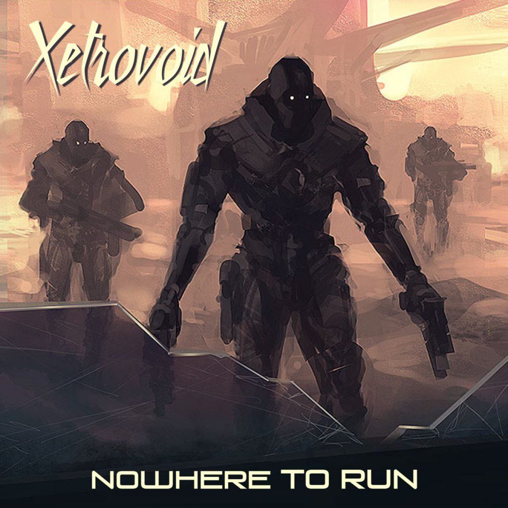 "Portada del álbum ""Nowhere to Run"" (2017), de Xetrovoid"