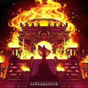"Portada del álbum ""Pandemonium"" (2017), de Timestalker"